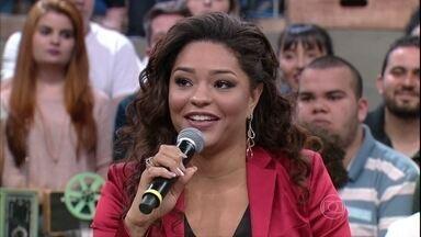 Juliana Alves relembra sua participação no Big Brother e no Domingão - Atriz revela que não acreditava que teria sucesso na profissão