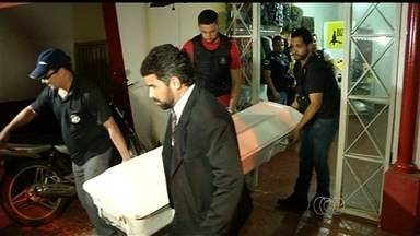 Empresário assassinado é enterrado em Jataí, GO - Polícia Civil já começou a ouvir os funcionários da empresa como parte das investigações.