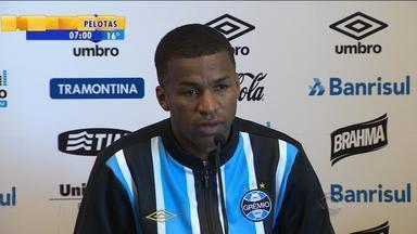 Esporte: Erazo e Rafael Thyere projetam partida contra o Fluminense - Partida acontece no sábado (1) no Rio de Janeiro.