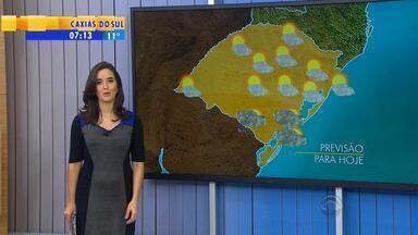 Tempo: quarta (29) será mais um dia de calor no RS - Massa de ar seco deixa temperaturas altas no estado.