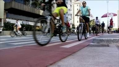 Ciclistas temem roubos de bicicleta nas grandes cidades - Em São Paulo, os roubos são mais comuns nos trechos de ciclovia mais longe do centro. O governo não tem um levantamento específico desse tipo de crime.