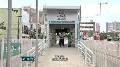 Estação de ônibus da Av. Bezerra de Menezes é reforçada com câmeras de seguranças - Passageiros reclamavam de vendedores ambulantes.