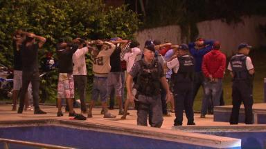 GM faz operação na região do Porto Meira - Comunidade chamou guardas ao local