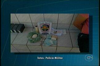 Homem foi preso em Petrolina por suspeita de tráfico de drogas - Com o ex-presidiário, foi encontrado crack, cocaína e identidade falsa, além de 20 mil reais