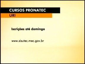 Cursos do pronatec tem inscrições até este fim de semana - São 120 vagas para quatro cursos diferentes.