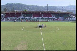 Ecus não aparece para o jogo, e Portuguesa Santista conquista três pontos por W.O - Segundo dirigentes, ônibus da equipe quebrou e impossibilitou chegada do time ao estádio.