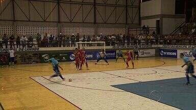 Moita e Canindé empatam pela 2ª rodada da Copa TV Sergipe de Futsal - Moita e Canindé empatam pela 2ª rodada da Copa TV Sergipe de Futsal
