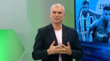 Maurício Saraiva fala sobre valor do clássico para treinadores da dupla Gre-Nal - Comentarista aborda desafios de Roger Machado e Diego Aguirre.