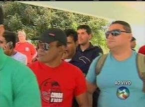 Vigilantes realizam paralisação em diversos municípios de Pernambuco - Eles estariam há dois meses sem receber o salário.