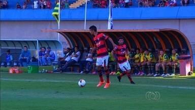 Atlético-GO bate fácil o Sampaio Corrêa e deixa o Z-4 - Dragão vence por 3 a 1 no Serra Dourada e sai da degola