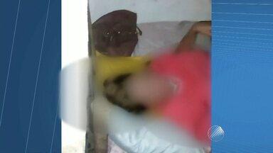 Cabeleireira que passou dez dias sequestrada passa bem - Vítima ficava acorrentada em uma cama, no cativeiro que ficava no baixo sul da Bahia.