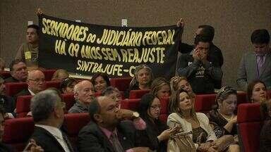 OAB cobra intervenção do CNJ para resolver problemas jurídicos no Ceará - Tema foi debate de audiência pública nesta segunda.