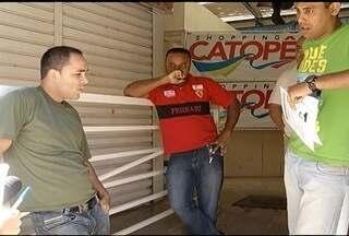 Shopping Catopê fecha as portas em Montes Claros - Diretoria alega alto índice de inadimplência dos lojistas.