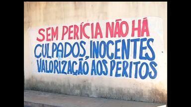Peritos do CPC em Santarém aderem paralisação estadual - Paralisação deve encerrar às 00h de terça-feira (3).