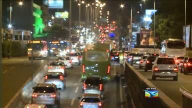 Trânsito movimentado com a volta às aulas em São Luís - Trânsito movimentado com a volta às aulas em São Luís