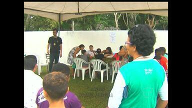 Em Santarém, comunidade Perema recebe 'Viva a Vida' - Perema foi a primeira comunidade a receber a caravana aqui do sistema tapajós de comunicação este ano.