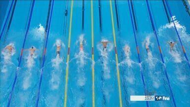 Nadador de Ribeirão conquista medalha no mundial de esportes aquáticos na Rússia - Nicholas Santos ficou em segundo lugar nos cinquenta metros estilo borboleta.