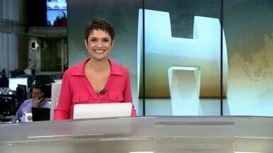 Veja no JH: Câmara e Senado retomam as atividades no Congresso - Indústria tem nova queda na produção em junho. Amantes do samba se reúnem para cantar e tocar durante a noite na Roda de Samba da Vela.
