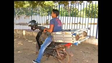 Licença para circulação de 'cinquentinha' será feita pelo Detran - Desde 2012, a fiscalização da circulação dessas motos em Santarém era feita pela Prefeitura do município.