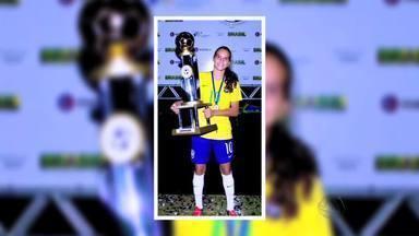 Ana Vitória fala sobre título pela Seleção Brasileira - Atleta é de Rondonópolis
