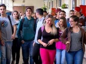 Escolas voltam às aulas e policiamento é normal hoje em Passo Fundo,RS - Depois dos protestos as atividades estão normalizadas