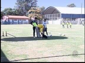 Grêmio Prudente retoma os treinos com incentivo especial - Time caiu da primeira para a segunda colocação no Grupo 1 da Segundona.