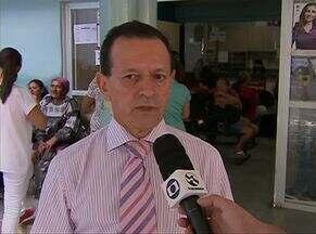 Duas unidades de saúde voltam a ser fiscalizadas em Caruaru - Sindicato dos Médicos de Pernambuco foram para o Hospital Jesus Nazareno e o Hospital Regional do Agreste.