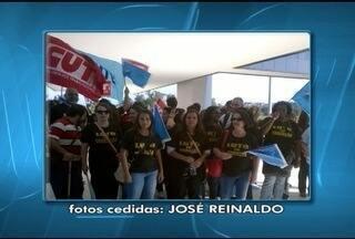 Servidores das 47 superintendências de ensino fazem manifestação em Belo Horizonte - Eles estão em greve desde 28 de julho.