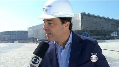 Secretário promete inaugurar metrô no dia 1º de Julho de 2016 - O Secretário de Transporte do Estado, Carlos Roberto Osório, garante que no dia 1º de julho de 2016, o metrô estará à disposição da população do Rio de Janeiro.