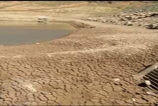 Estiagem agrava crise hídrica em Francisco Sá - Muitos rios estão praticamente secos.