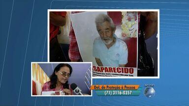 Veja o quadro 'Desaparecidos' desta quarta-feira (5) - Parentes e amigos vão à Praça da Piedade em busca de notícias de entes queridos.