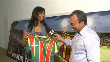 Sampaio lança time de basquete para a disputa da LBF - Iziane será um dos destaques do time de basquete feminino