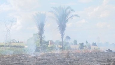 Aumentou 300% atendimento a pessoas com problemas respiratórios - No período de seca aumenta o número de queimadas urbanas e rurais, o que prejudica a respiração principalmente de crianças e idosos.