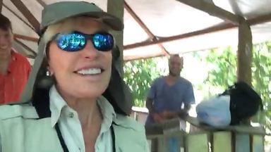 Ana Maria apresenta um pedacinho da Amazônia - Apresentadora mostra seus bastidores de gravação e prepara para o que vem no seu programa na Amazônia.