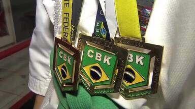 Karatecas de Sinop comemoram bom desempenho no Brasileiro - Karatecas de Sinop comemoram bom desempenho no Brasileiro