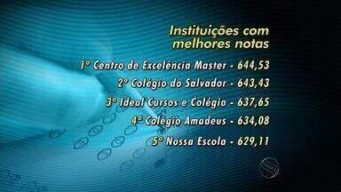 Só um colégio da rede pública está entre 10 primeiros no Enem em SE - Só um colégio da rede pública está entre 10 primeiros no Enem em SE