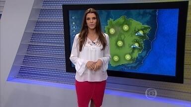 Sem previsão de chuva em Minas Gerais, tempo permanece seco nos próximos dias - De acordo com a meteorologia, a quinta-feira (6) será de tempo firma na Grande BH. A massa de ar seco continua forte sobre o estado.