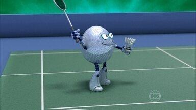 Globolinha explica as regras do badminton - Modalidade estreou em Jogos Olímpicos em 1992.