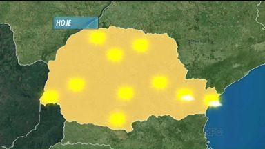 Previsão de muito sol e calor em todo Paraná - Confira a previsão para domingo.