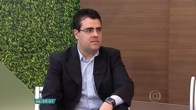 Oitenta por cento dos brasileiros não sabem que têm colesterol alto, revela pesquisa - Entrevista ao vivo no estúdio com o cardiologista Felipe Lopes Prado.