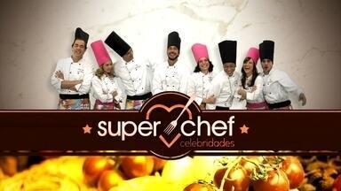 Ana Maria Braga dá a largada para o Super Chef Celebridades 2015 - Primeiro desafio do reality: participantes cozinham para os seus adversários