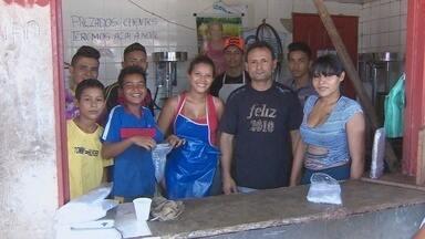 Preço do açaí no Amapá diminui com a alta safra - Estamos na melhor época do ano para tomar açaí mais barato. O litro pode ser encontrado por até três reais. Nesses locais, claro, tem até fila.