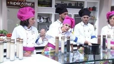 Na prova da Panela de Pressão, duplas apresentam dois pratos: um risoto e um arroz - Participantes do Super Chef Celebridades contam como foi o desafio