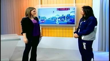 Primeira Corrida Solidária do Tênis acontece em Uruguaiana, RS - Evento é promovido pelo Sesc.