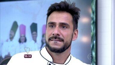 Ana Maria relembra a eliminação de Julio Rocha no Super Chef Celebridades 2015 - Fiuk agradeceu ao público por ter permanecido no jogo