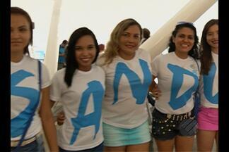 Mulheres são destaques no embarque do Paysandu para enfrentar o Flu - Mulheres são destaques no embarque do Paysandu para enfrentar o Flu