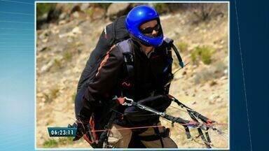 Corpo de paraquedista português será levado para Portugal - Ele morreu no sábado, ao colidir com uma rocha, em Quixadá.