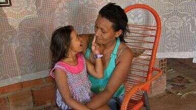 Criança doente de Cuiabá luta para conseguir leite especial - Criança doente de Cuiabá luta para conseguir leite especial