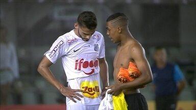 Após derrota, Renato Augusto diz que Santos tem grande vantagem - Para jogador, Corinthians merecia ter marcado no segundo tempo da partida.
