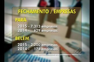 Mais de sete mil micro e pequenas empresas já fecharam as portas este ano aqui no Pará - Mais de sete mil micro e pequenas empresas já fecharam as portas este ano aqui no Pará